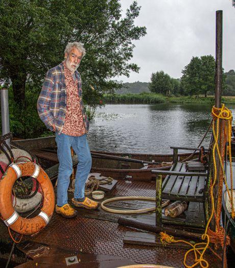 Deze zomer geen heen-en-weer voor Zwolse pontbaas Jacob (77), maar: 'de mensen blijven maar komen'