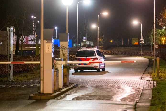 De politieactie in Zwolle-zuid