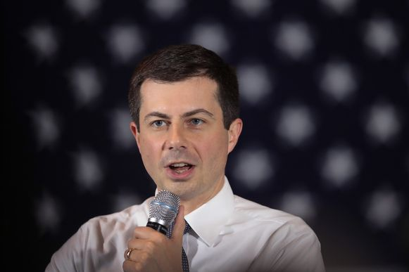 Pete Buttigieg.