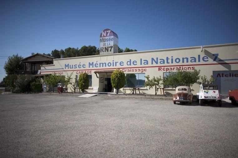 Musée Mémoire de la Nationale 7. Beeld Bart Koetsier