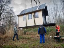 Mogelijkheden voor kleine huisjes in recreatiegebied Heerjansdam