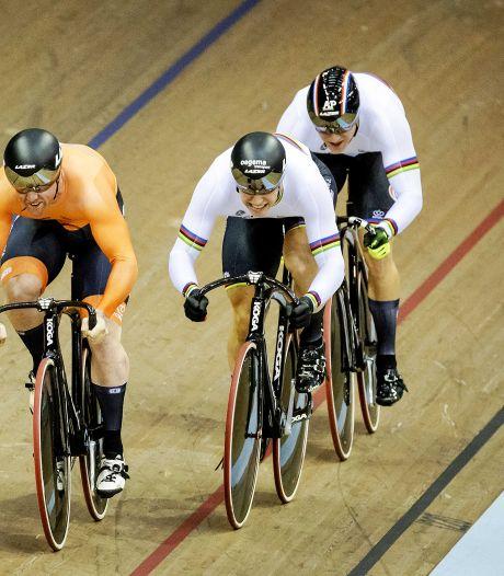 Harrie Lavreysen pakt met teamsprinters op EK in Glasgow opnieuw goud