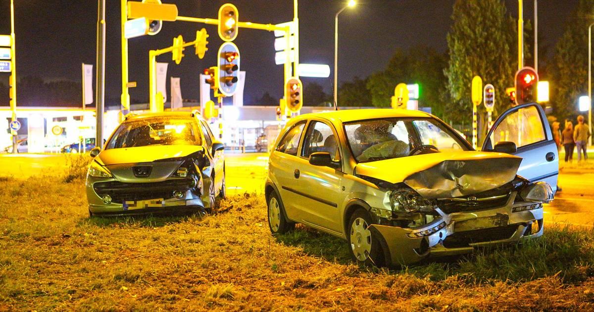 Gewonde bij ongeval op Barneveldseweg in Nijkerk.