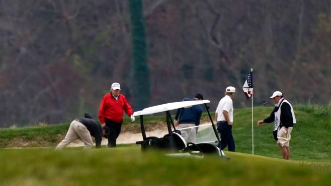 Trump verlaat voortijdig G20-top en gaat golfen