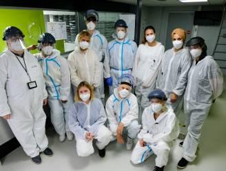 Testteam in Vilvoorde nam 1.143 testen af op week tijd