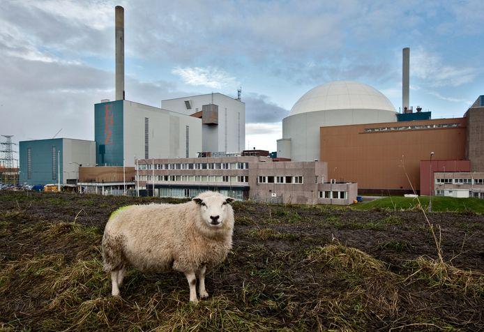 De enige actieve kernenergiecentrale van Nederland, in het Zeeuwse Borssele.
