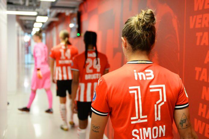 Het Eindhovense bedrijf in3 is de nieuwe rugsponsor van PSV Vrouwen.