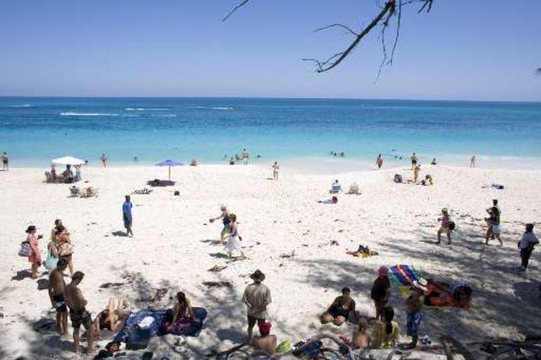 Op de Bahamas genieten toeristen nog even van de rust. Beeld UNKNOWN