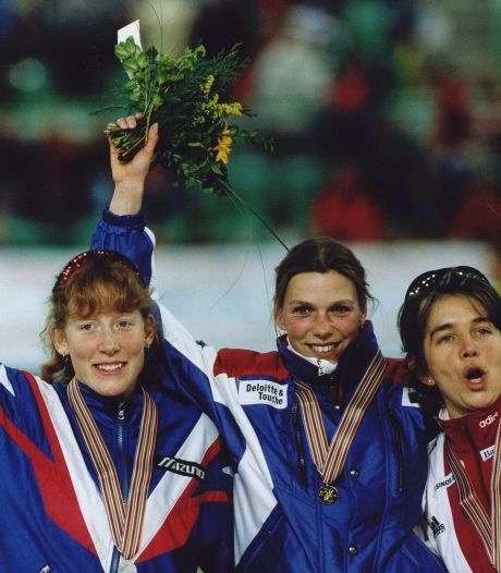 Vandaag precies 25 jaar geleden kon Annamarie Thomas eindelijk de Duitsers verslaan en werd wereldkampioen