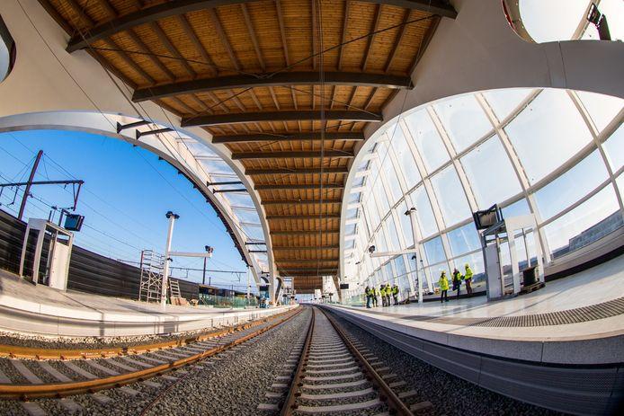 La gare de Malines.