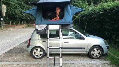 Uitgetest: reizen met een rooftoptent. En dat op een van de kleinste autootjes van België!