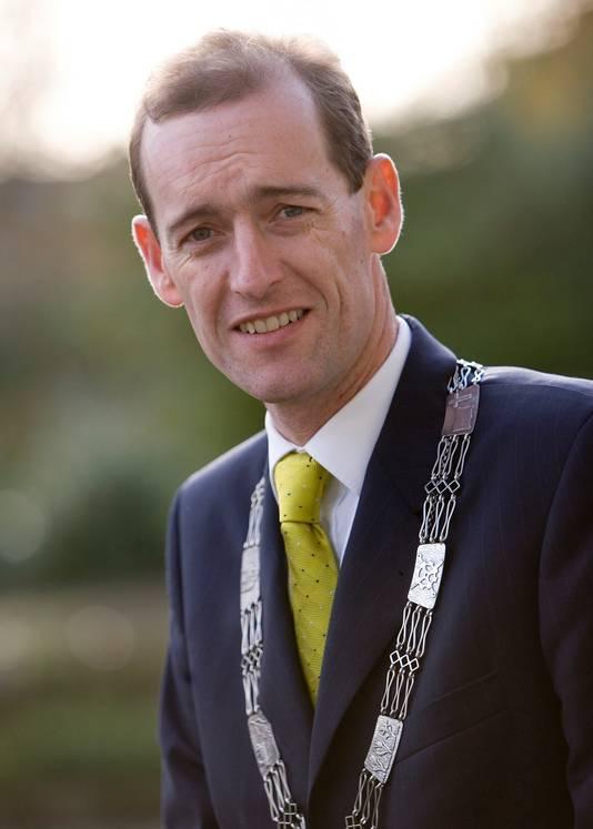 Sander Schelberg, burgemeester van Hengelo