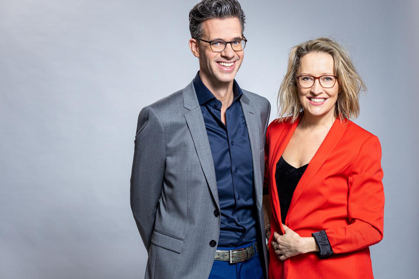 Willemijn Veenhoven en Erik Dijkstra: het duo dat maandag aan de beurt was.