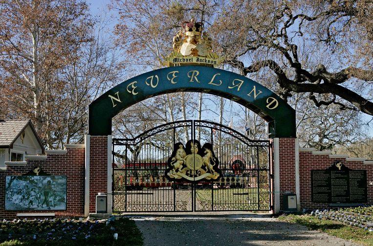 De poort van Neverland. Beeld AP