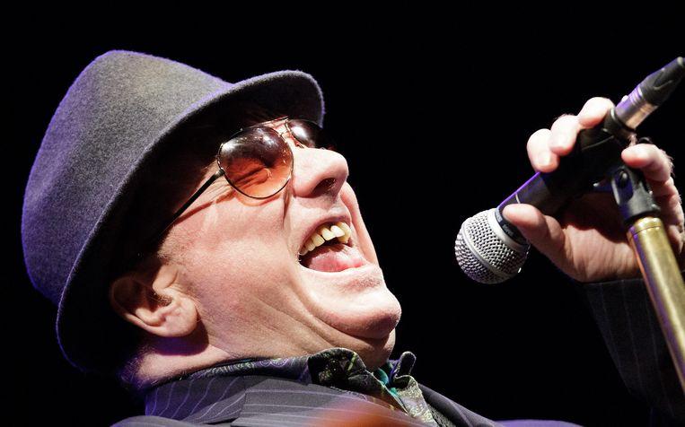 Van Morrison komt op zaterdag 14 juli naar Blues Peer. Beeld EPA