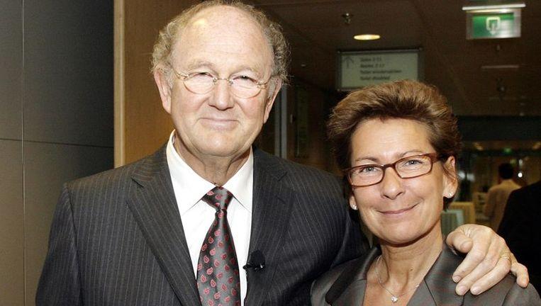 Joop van den Ende en zijn vrouw. Foto GPD Beeld