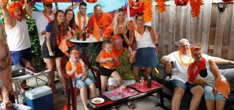 Oranjefeest met alles erop en eraan, behalve de drie punten