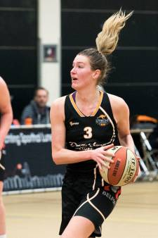 Basketbalsters Utrecht Cangeroes onderuit in eerste play-offduel