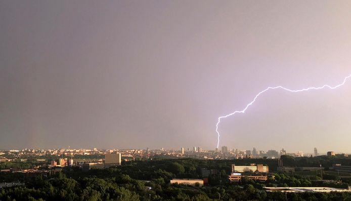 Des orages violents pourraient arriver dans la soirée