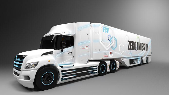 Vorkheftrucks, treinen, boten, energieopslag en grote emissievrije trucks: Toyota wil waterstof overal toepassen