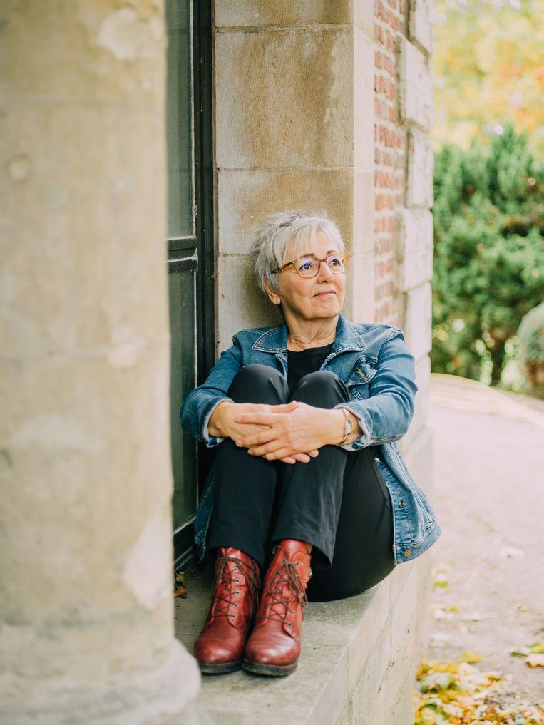 Ex-televisiefiguur Frieda Van Wijck: 'Ik ben nooit in het grote niets terechtgekomen.'  Beeld Kevin Faingnaert