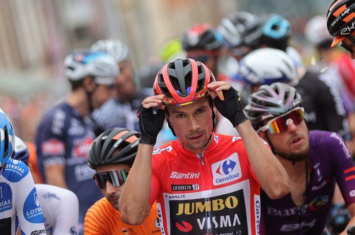 Le plus dur semble fait: Primoz Roglic devrait remporter sa troisième Vuelta consécutive, dimanche, à Saint-Jacques-de-Compostelle.