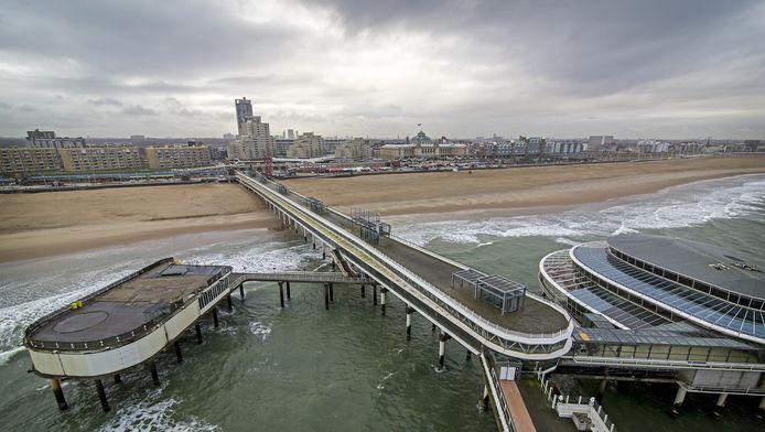 De pier wordt opgeknapt en krijgt een reuzenrad.