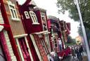 De wagen 'Boekenstad' van Vedut Nogal.