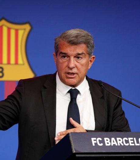 Laporta vaag over toekomst Koeman bij Barcelona: 'We hebben respect en waardering voor hem'