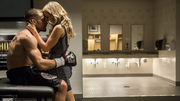 Jake Gyllenhaal als bokser in 'Southpaw'. Beeld rv