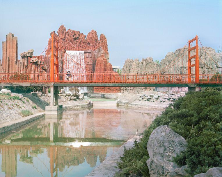De Golden Gate Bridge (origineel in San Francisco) Beeld PAULINE NIKS