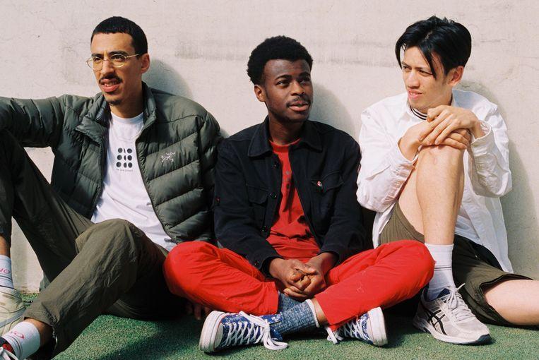 Maru Asmellash, Eben Badu en Rizky Lasahido hadden al in hun schooltijd dezelfde interesses: mode, lifestyle en muziek. Beeld Carly Wollaert