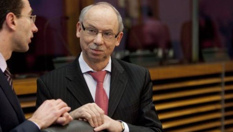 Europees commisssaris Janusz Lewandowski van Begroting. ANP Beeld