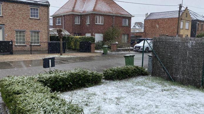 Nog tot woensdag is er kans op smeltende sneeuw.