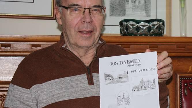 Na boek nu ook tentoonstelling met werken van 80-jarige pentekenaar Jos Daemen