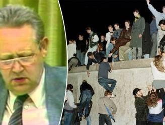 Hoe de Berlijnse Muur eigenlijk per ongeluk viel: na vergissing van één man
