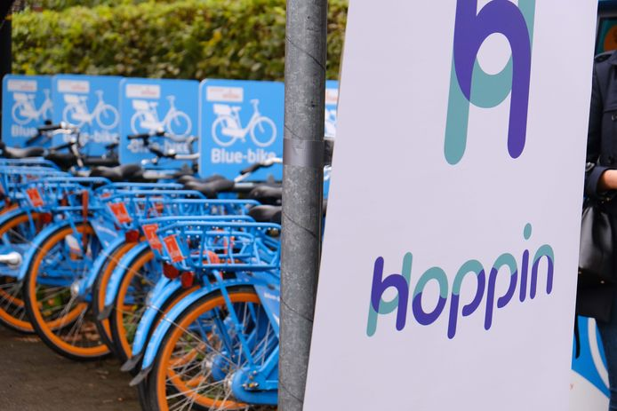 In Leuven openden de eerste Hoppinpunten al eind september.