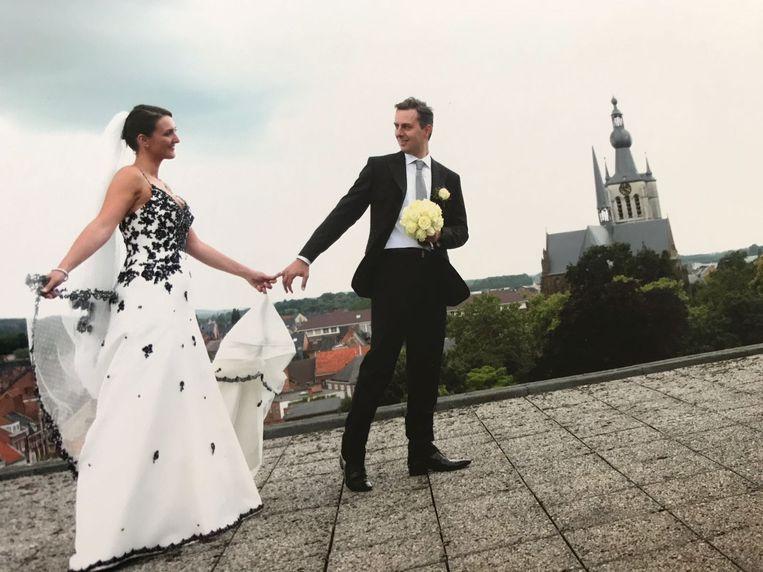 Gwendolyn Rutten en partner Jimmy Geurts - huwelijk trouw