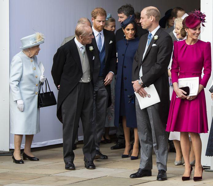 Mensen die de prins condoleerden met de dood van zijn opa, de echtgenoot van koningin Elizabeth, kregen van William en Kate een kaartje om daarvoor te bedanken.