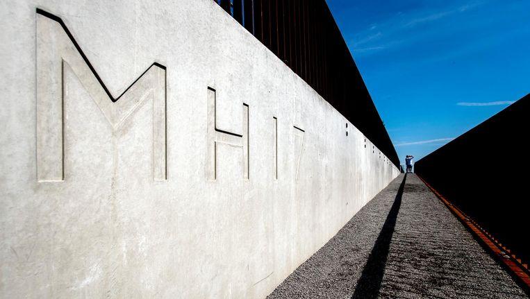 Het Nationaal Monument MH17 in Vijfhuizen. Beeld ANP