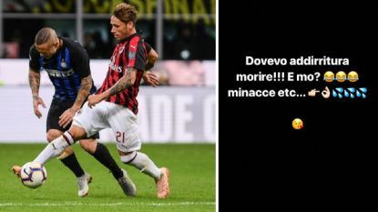 """FT buitenland. """"Nainggolan tijdje out"""", Radja reageert op doodsbedreigingen - Barça-president: """"We halen Neymar niet terug"""""""