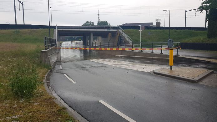 Wateroverlast in Rosmalen