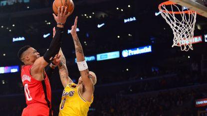 20.000 punten voor Russell Westbrook: Houston wint kraker tegen LA Lakers