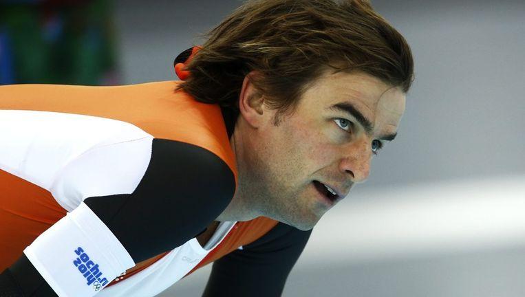 Mark Tuitert na zijn 1000 meter Beeld epa