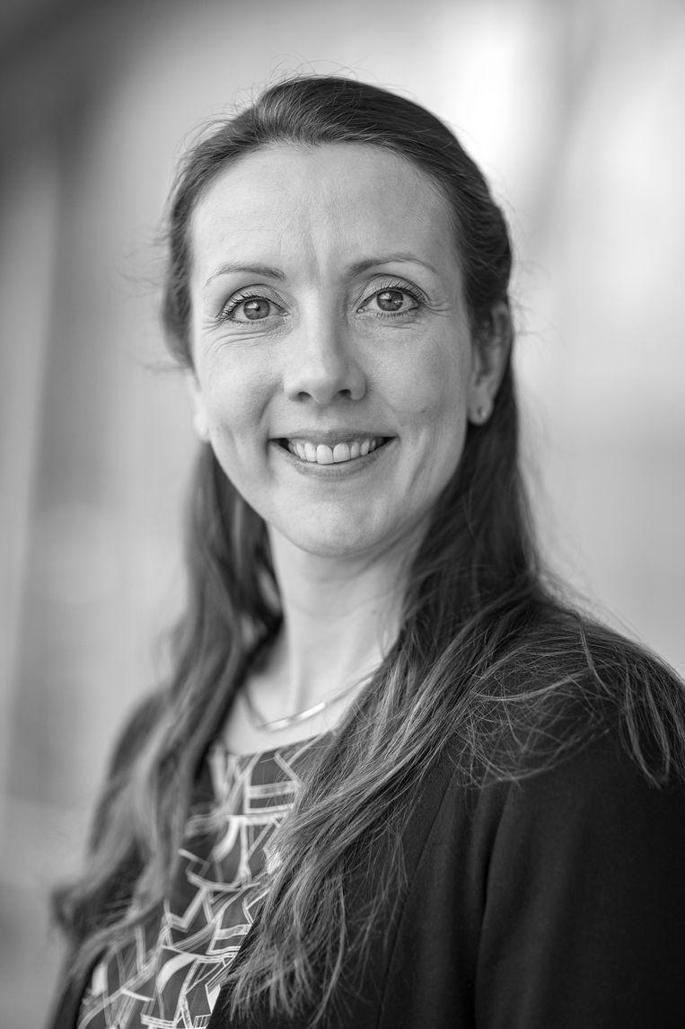 Jojanneke van der Toorn is bijzonder hoogleraar inclusie van lhbt-werknemers aan de Universiteit Leiden en universitair hoofddocent Sociale en Organisatiepsychologie aan de Universiteit Utrecht. Beeld Ed van Rijswijk