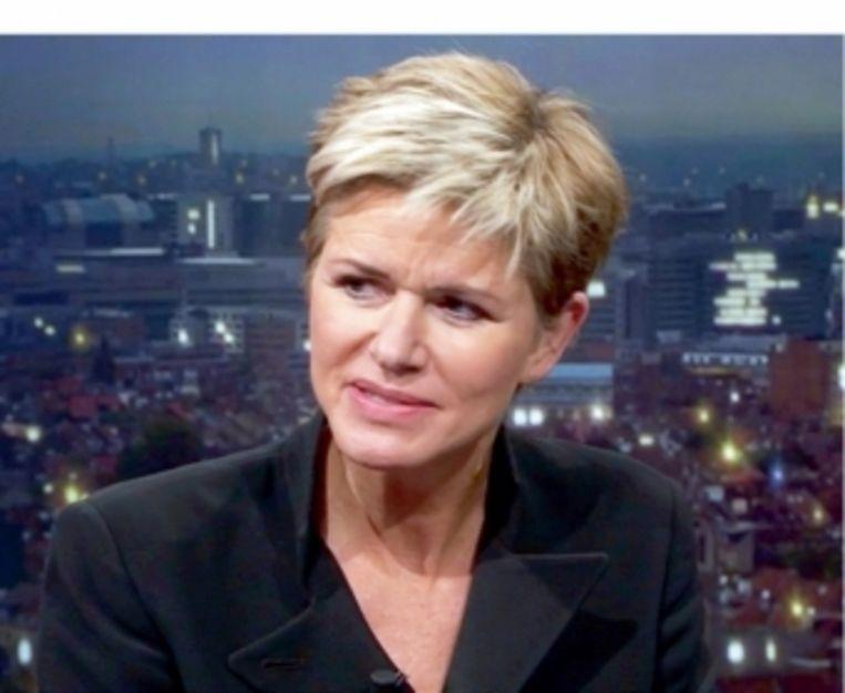 Advocate Christine Mussche verdedigde de vrouwen die hebben getuigd over het gedrag van Bart De Pauw Beeld