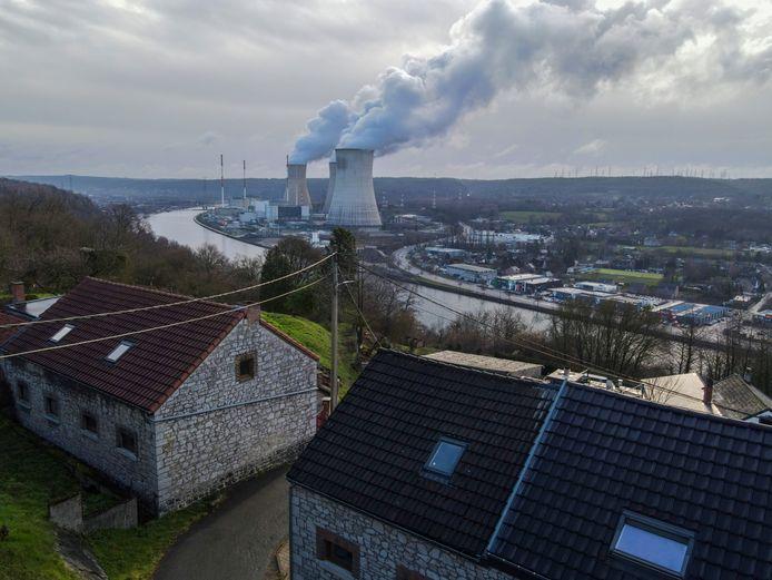 La centrale nucléaire de Tihange.
