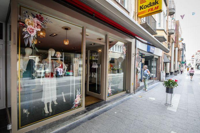 Andrea's Fashion bevindt zich in de Molenstraat.