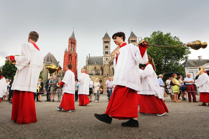 De Heiligdomsvaart in Maastricht in 2018.