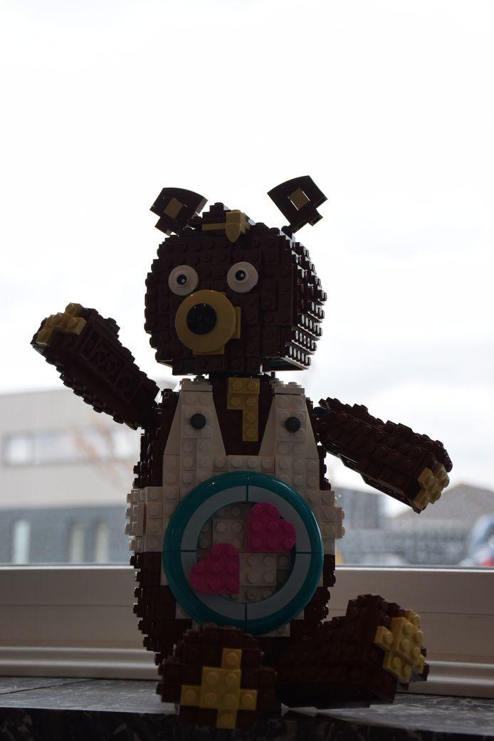 Ook deze beer is één van de creaties van David.